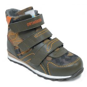 Обувь ортопедическая ботинки ORTHOBOOM 87054-02 - купить недорого / Самара, Тольятти, Ульяновск, Сызрань