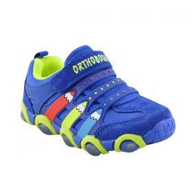 Обувь ортопедическая кроссовки ORTHOBOOM 33034-01 синие - купить недорого / Самара, Тольятти, Ульяновск, Сызрань