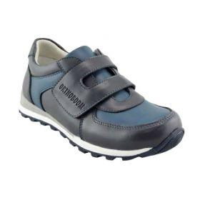 Обувь ортопедическая кроссовки ORTHOBOOM 33057-02 черно-синие - купить недорого / Самара, Тольятти, Ульяновск, Сызрань