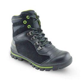 Обувь ортопедическая ботинки ORTHOBOOM 87054-01 черный с салатовым - купить недорого / Самара, Тольятти, Ульяновск, Сызрань